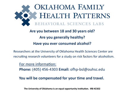 Oklahoma Family Health Patterns