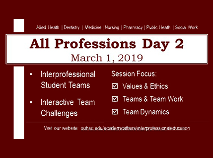 All Professions Day 2019