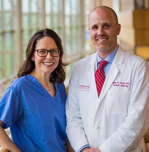 Trauma survivor defies the odds twice with help of OU Medicine husband and wife surgeons