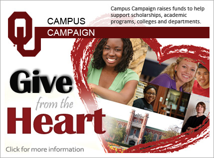 Campus Campaign-Give from the heart-support scholarships, academic programs, colleges & departments