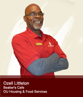 Ozell Littleton - Beaker's Cafe OU Housing and Food Services