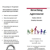 Reaching Agreement Toolbox